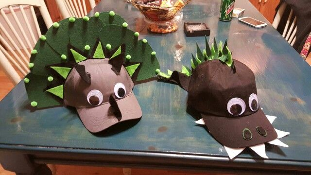 I Made The Boy's Crazy Hat Day Hat's! They Turned Out