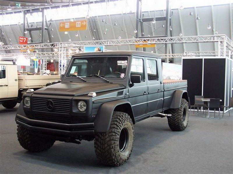 Mercedes Benz G500 Pickup Images Price 4