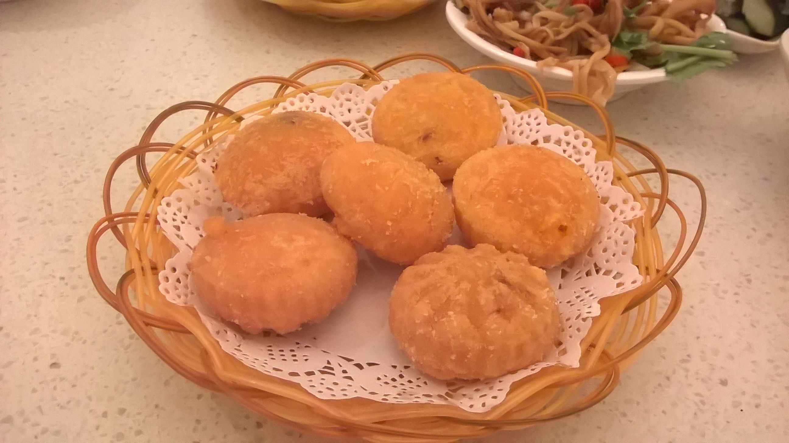 Nanchang. Gâteaux fourrés au potiron.