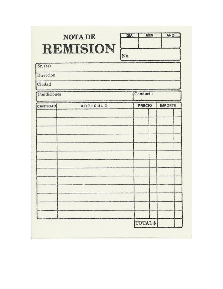 Formatos para llenado en ejercicios de simulación RESUMENES Y - formato nota de credito