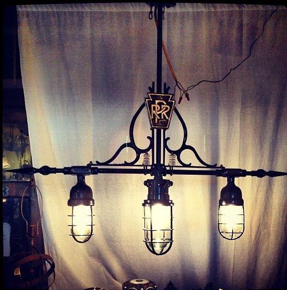 Antique Railroad Light Fixtures Architectural Salvage