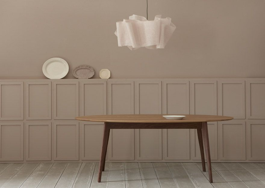 The Harper Dining Table By Pinch Design Is Available In