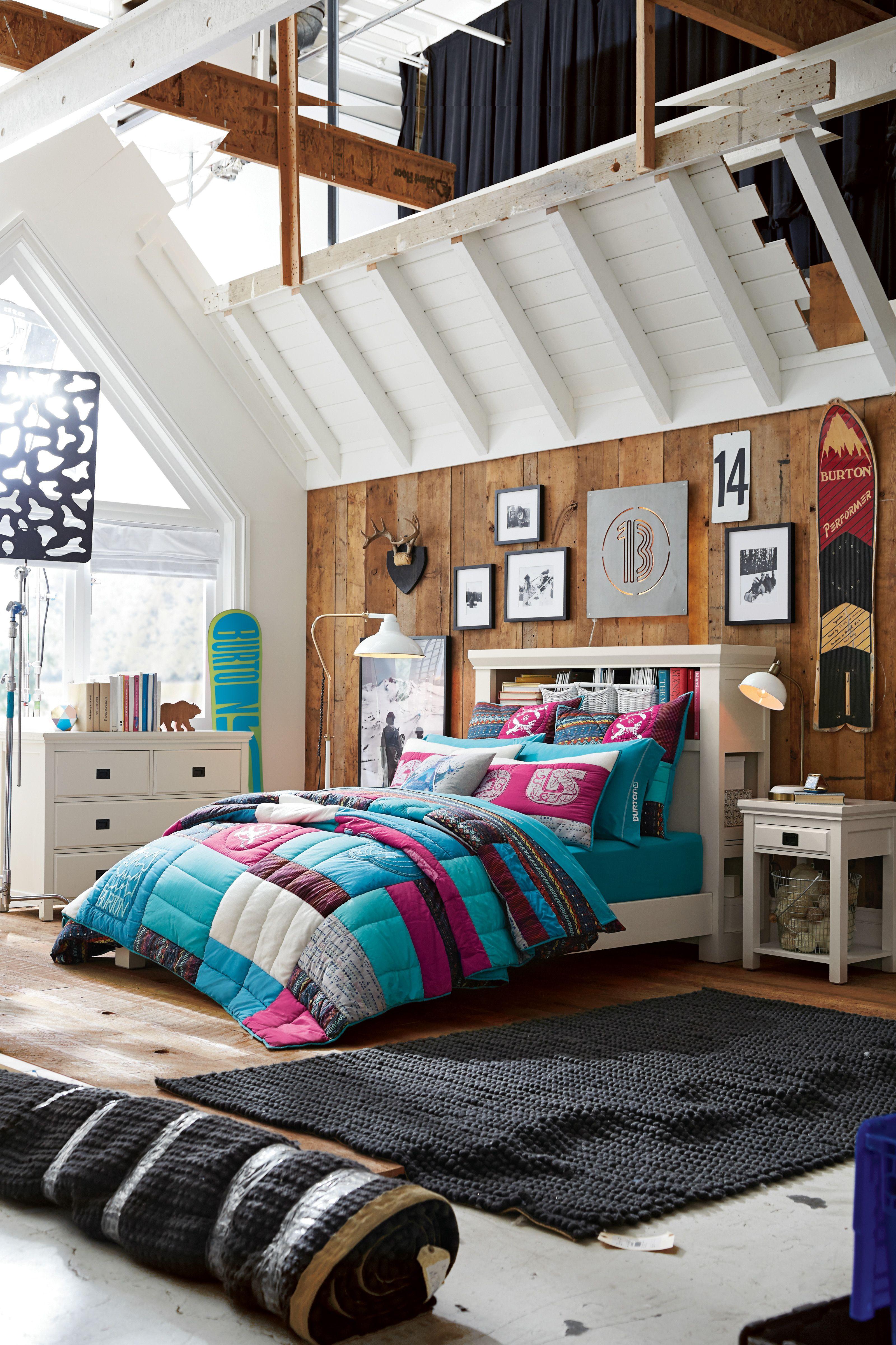 2014 Pbteen Burton Collection Pbteen Complete Bedroom Set