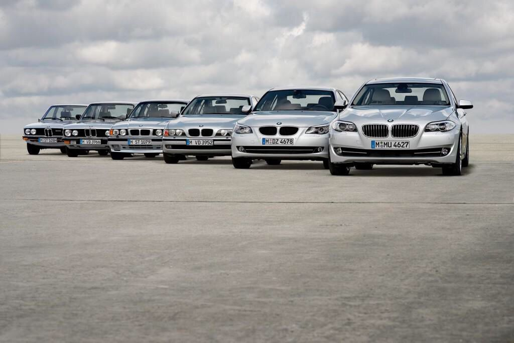 Bmw 5 Series 6 Generations Classic Bimmers