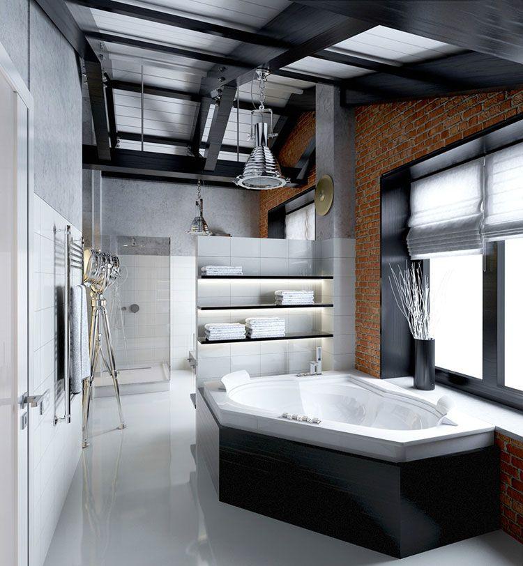 Bagno di lusso moderno 13 | Bagni di design | Pinterest