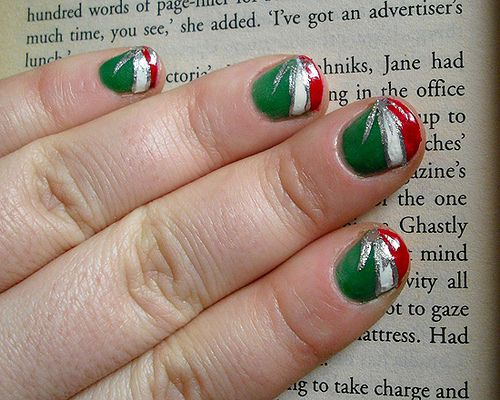 Italian Nail Art Hair And Nail Ideas Pinterest Holiday Nail
