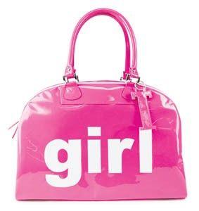 Large Schelpp Bag GIRL @ Stylishnomad.com