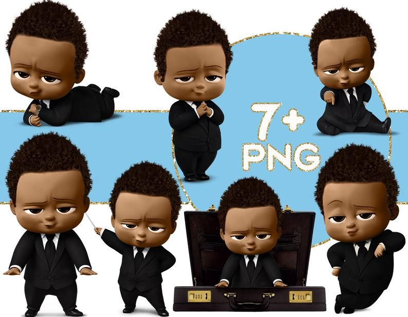 African American Boy Baby Clipart Birthday Baby Png Images Etsy In 2021 Boss Baby Baby Boy Svg African American Boys