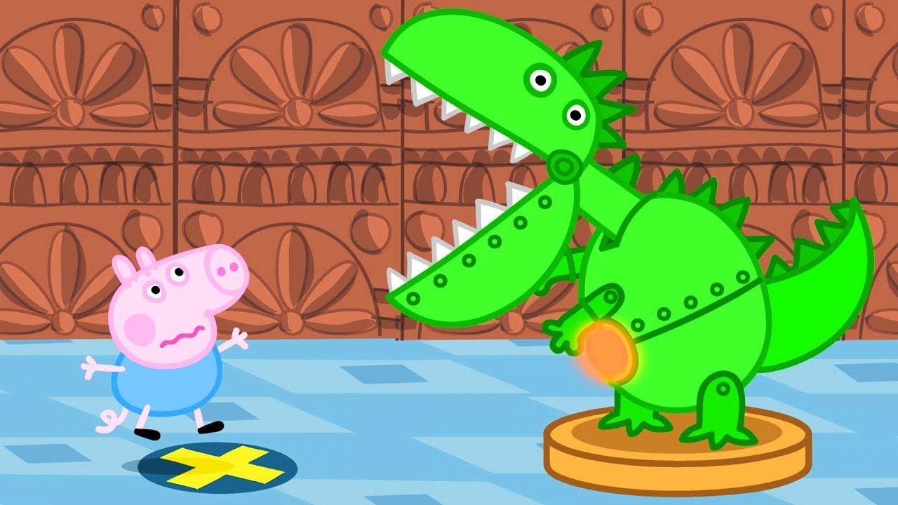 Peppa Pig Français Dinosaures Dessin Animé Pour Enfant