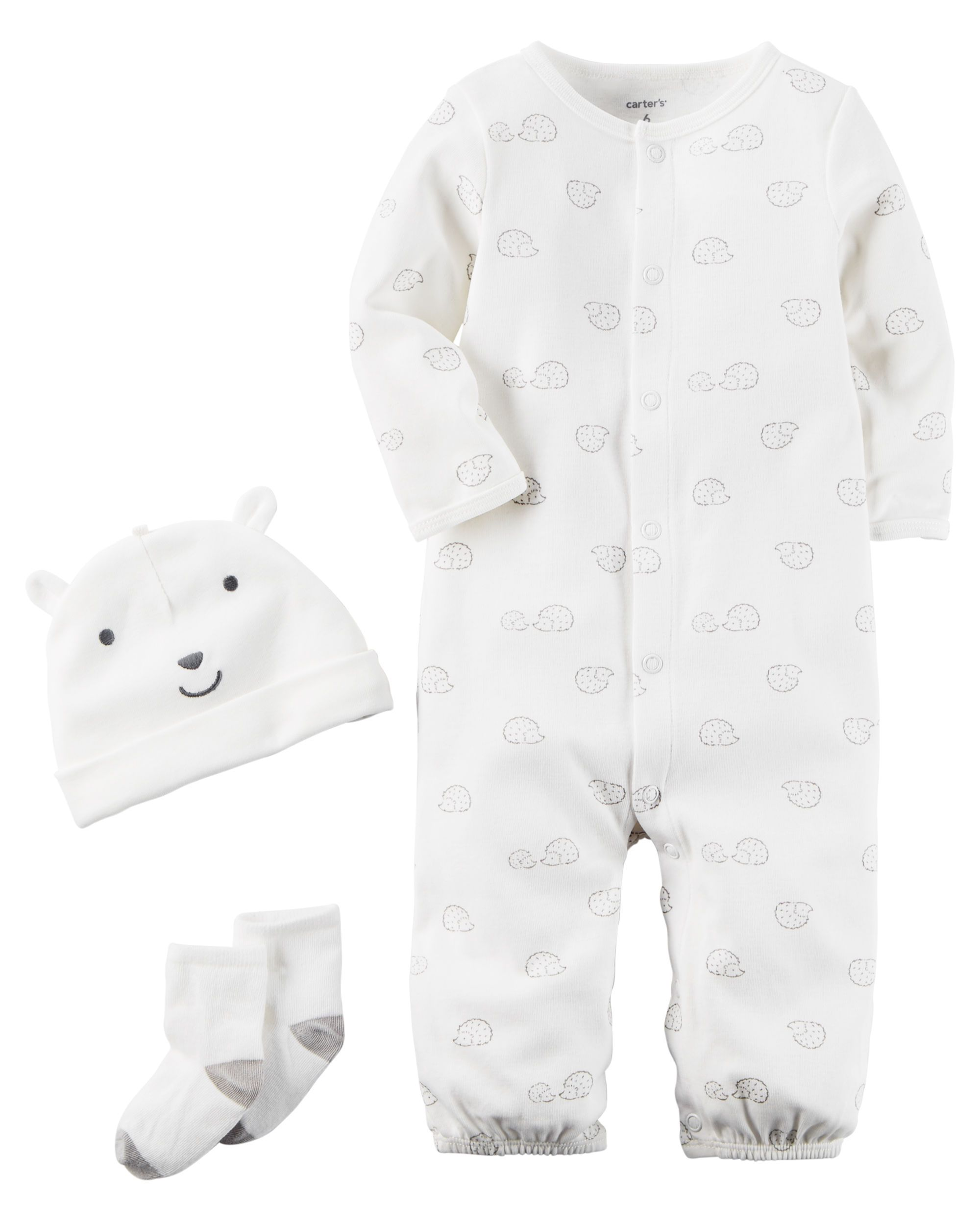 8ad274fcb780 Baby Boy 3-Piece Babysoft Take-Me-Home Set from Carters.com. Shop clothing    accessories from a trusted name in kids