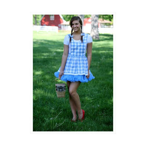 Teen Tutu Dorothy Costume - Wizard of Oz Halloween Costumes ($45 - cute teenage halloween costume ideas