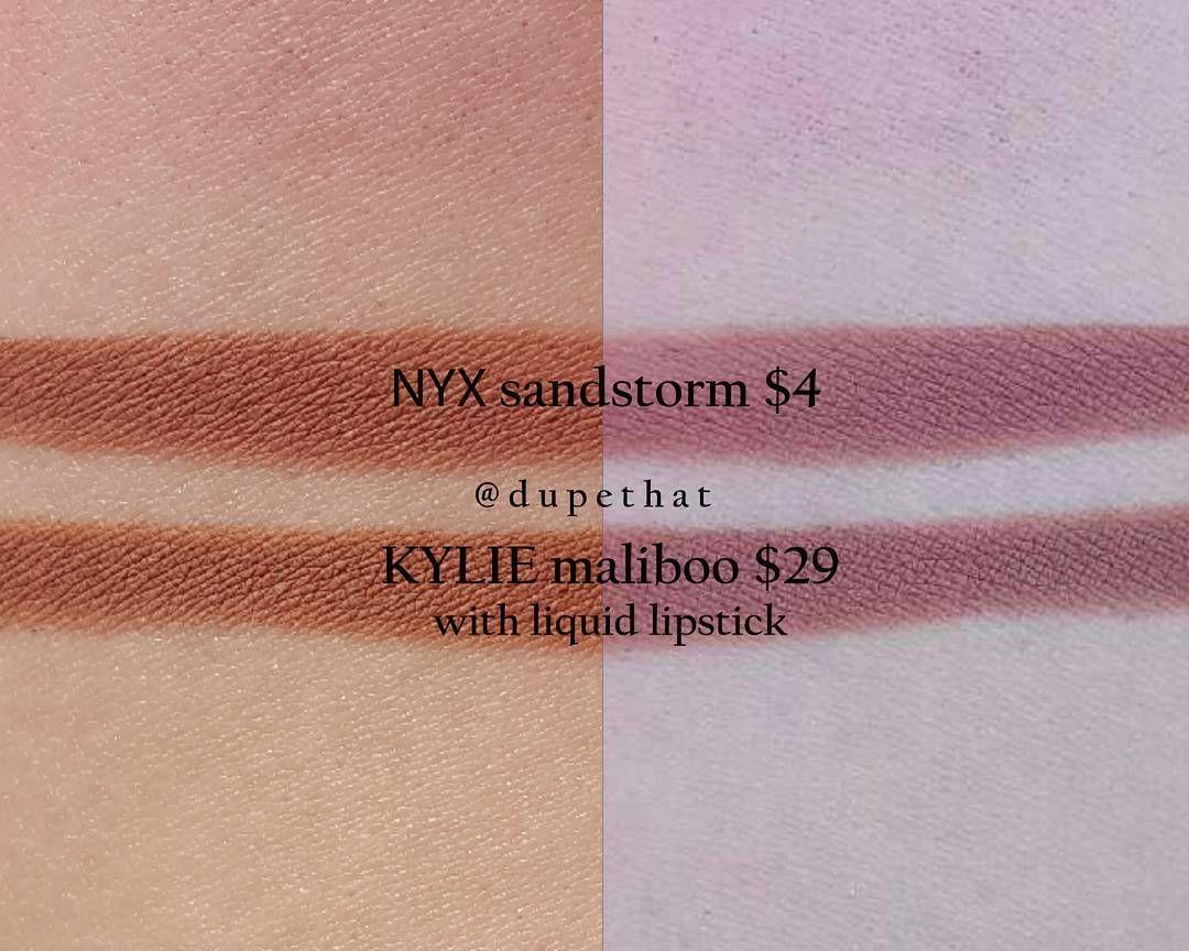 Kylie Maliboo   NYX Sandstorm lip liner pencil  lipliner  dupe   LipPencilTutorial 27368b9fbb5ef