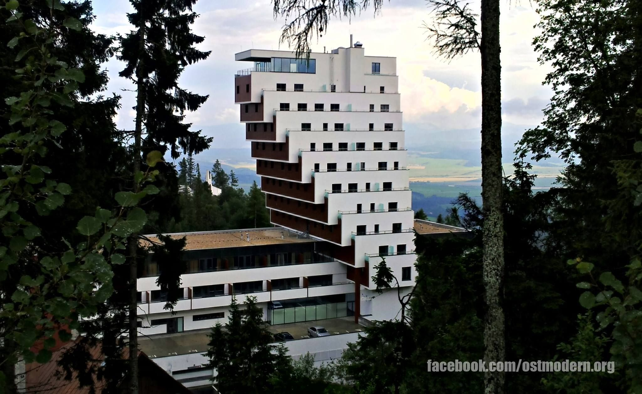 Panorama Hotel Ski Resort In Strbske Pleso High Tatras Loved The Stay Here In 1994 And Hiking The High Tatras Amazing Architecture Ski Resort High Tatras