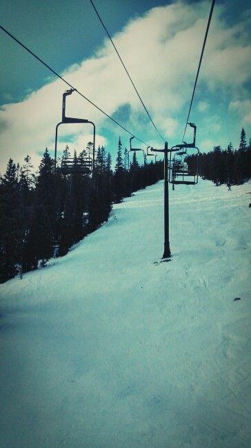 Colorado ski slopes