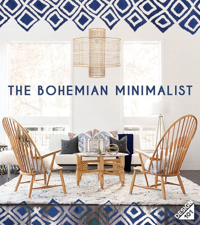 The Bohemian Minimalist House Pinterest Minimalist Bohemian And Furniture