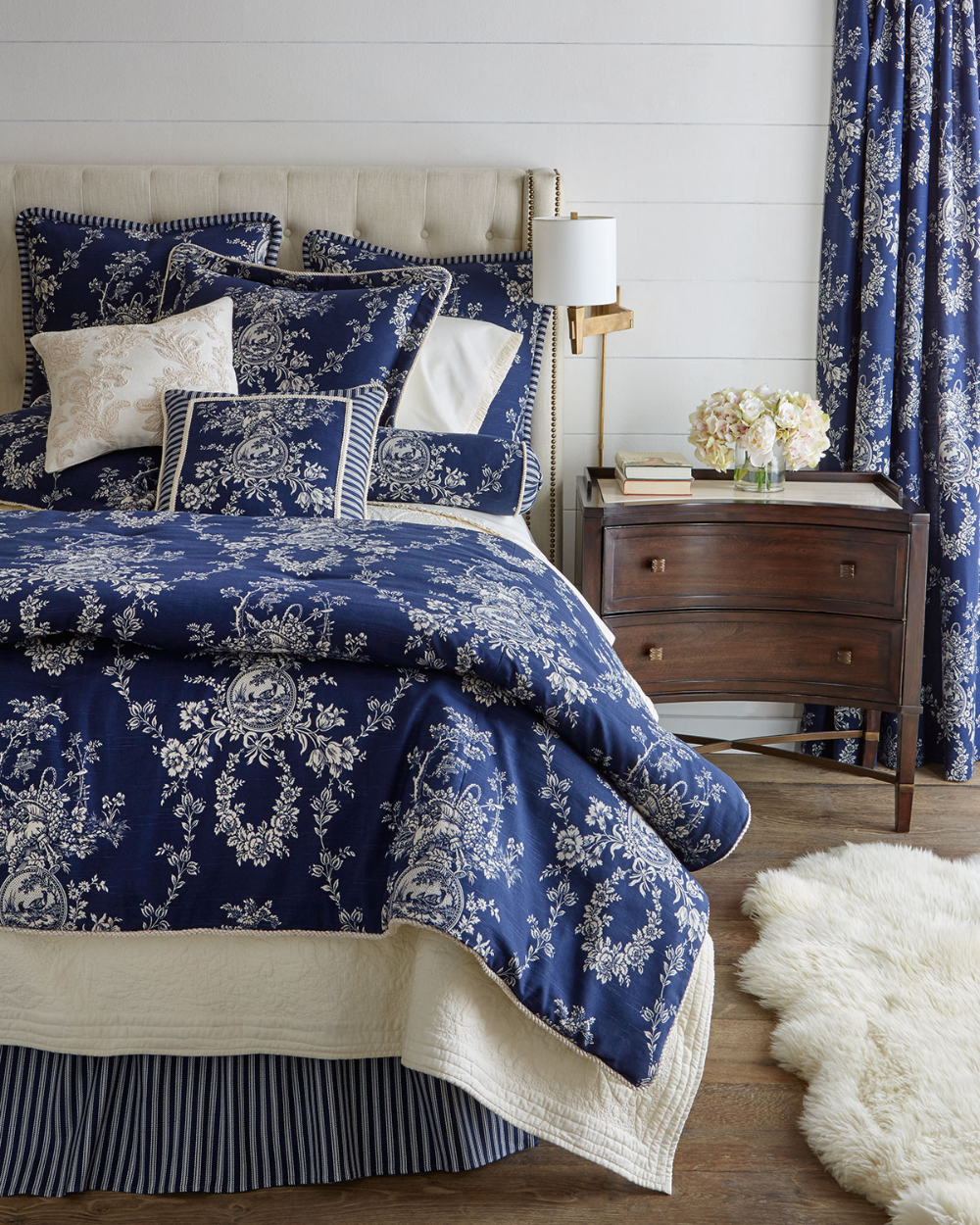 Sherry Kline Home Country Toile Bedding & Matching Items in 2020