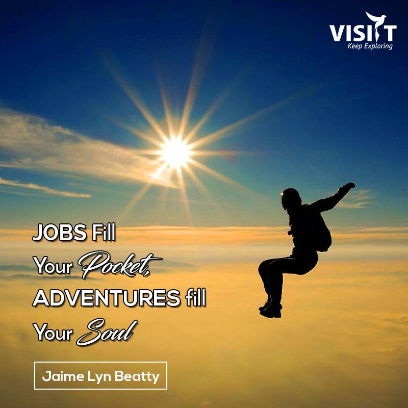 Jobs Fill Your Pocket Adventures Fill Your Soul Jaime Lyn Beatty
