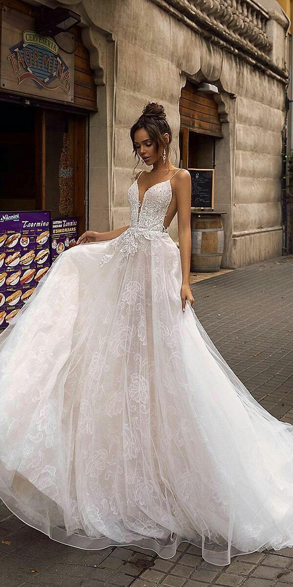 Scarpe Sposa Per Abito In Tulle.Tina Valerdi 2019 Wedding Dress Hochzeitskleid Kleid Hochzeit