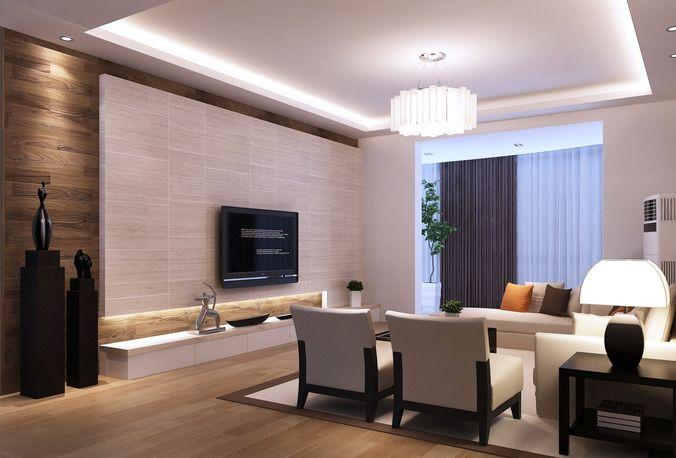 modern living room 3d model max 2 Furniture in 2018 Pinterest