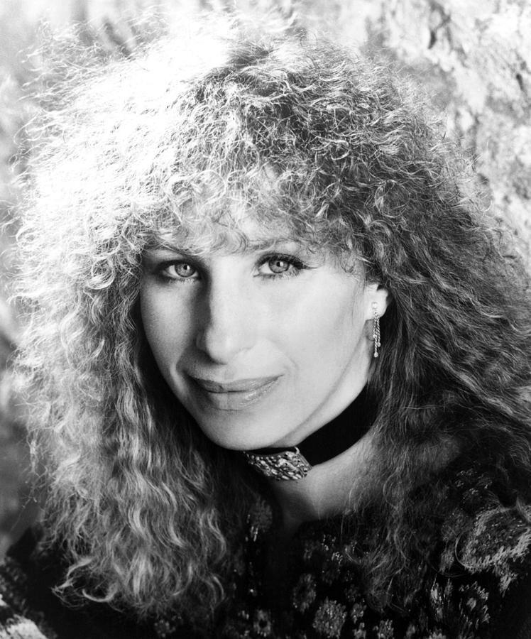 Lyric barbra streisand hello dolly lyrics : Barbra Streisand, Portrait, 1983 Canvas Print / Canvas Art by ...