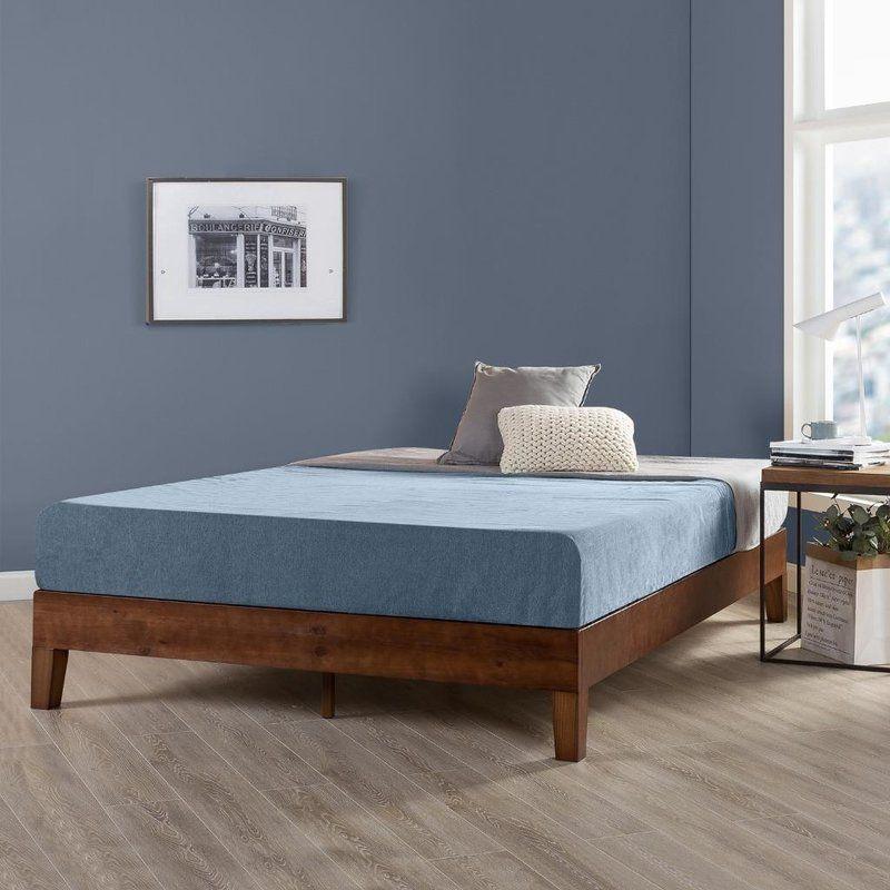 Harney Platform Bed Frame Wood Platform Bed Frame Solid Wood