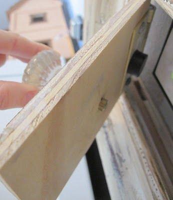 How To Hide Purtruding Items From Your Wall Garage Door Opener Garage Doors Hide Thermostat