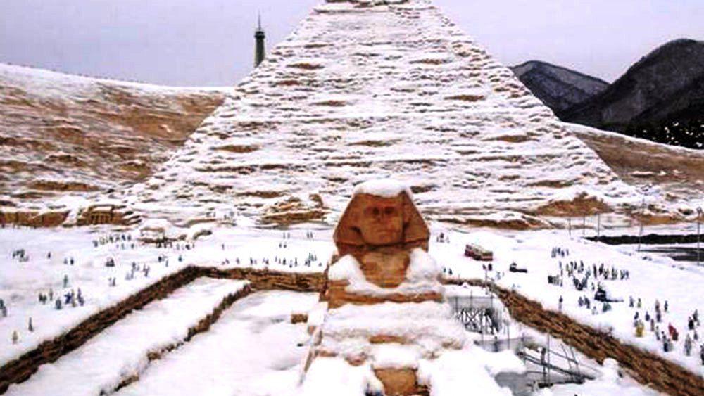 Snow Egypt Amazing Egypt Tourism Egypt Tourism