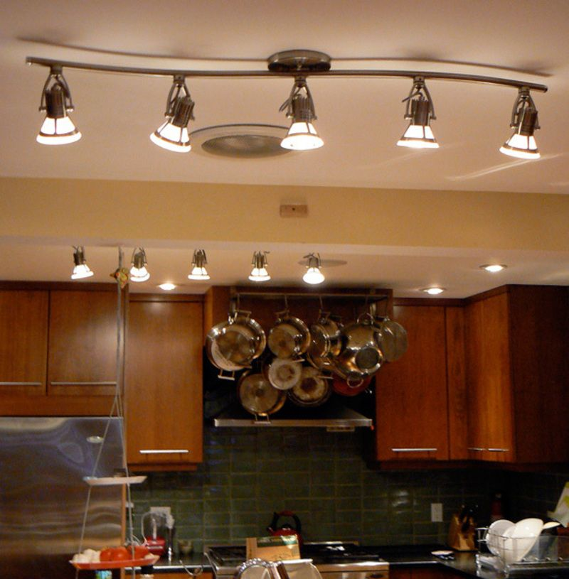The Best Designs Of Kitchen Lighting Architecture And Houses - Kitchen spotlight fixtures