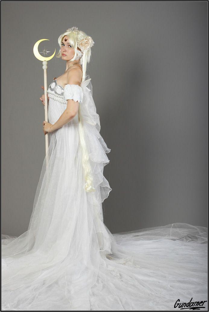 Sailor Moon Princess Serenity Tsukino Usagi Anime Cosplay Costume Party Dress