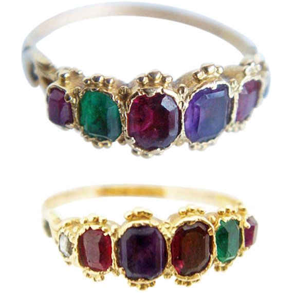 karat ring pinterest and gold rings emerald flower ruby on images diamond best pink