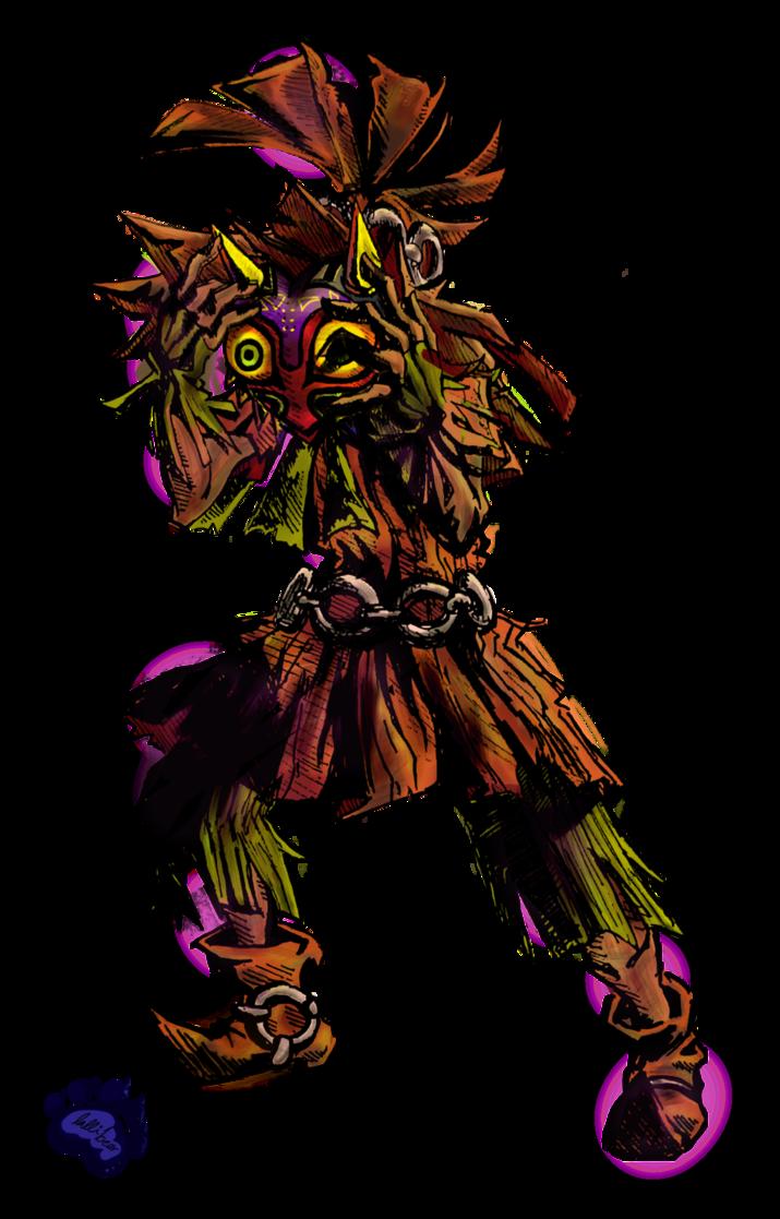 Skull Kid By Lallibear Majoras Mask Skull Kid Zelda Art Legend Of Zelda