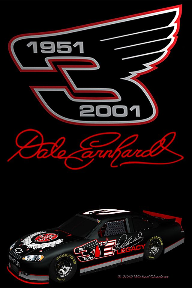 Dale Earnhardt In Memory Decal NASCAR Decal