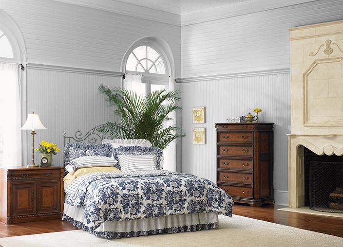 old bedroom color Behr SUBTLE TOUCH(790E1), Blue room