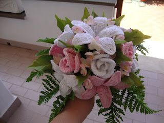 Bouquet Sposa Uncinetto Tutorial.L Uncinetto Di Franca Ancora Bouquet All Uncinetto Matrimonio