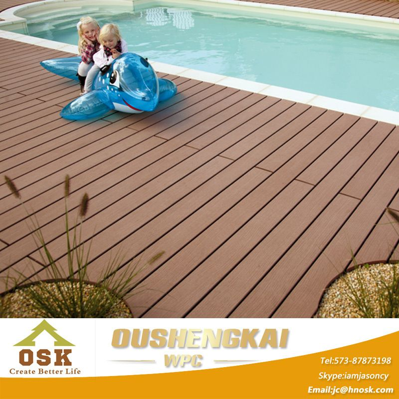 Cheap Price WPC Waterproof Outdoor Deck Flooring, View ...