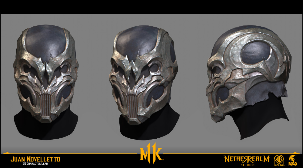 Artstation Noob Saibot Masks Mortal Kombat 11 Gears Juan Novelletto Noob Saibot Mortal Kombat Mask Mortal Kombat