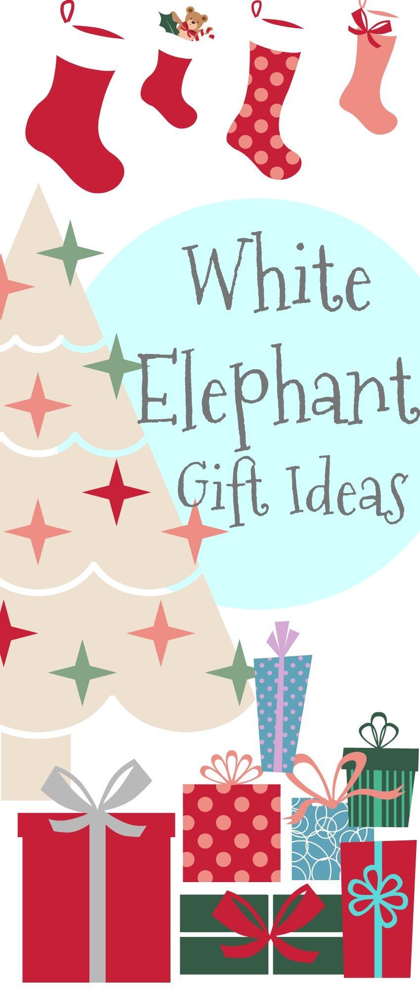 White Elephant Gift Ideas   Christmas   Pinterest