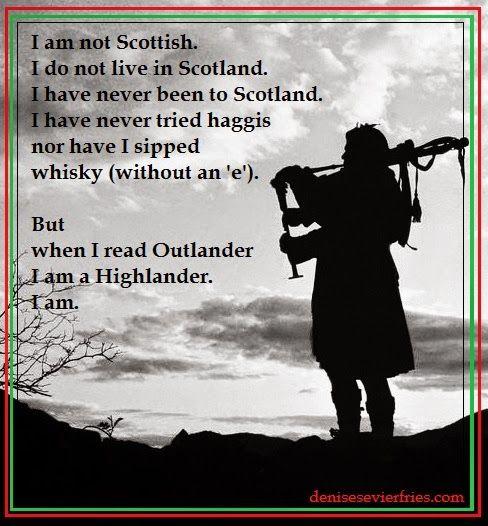 I am a Highlander.