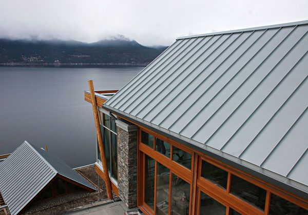 Best Zinc Roof At Outback Zinc Roof Metal Roof Roof 400 x 300