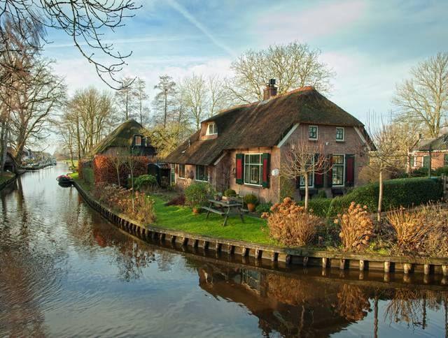 Paesi bassi, Olanda, Bei posti