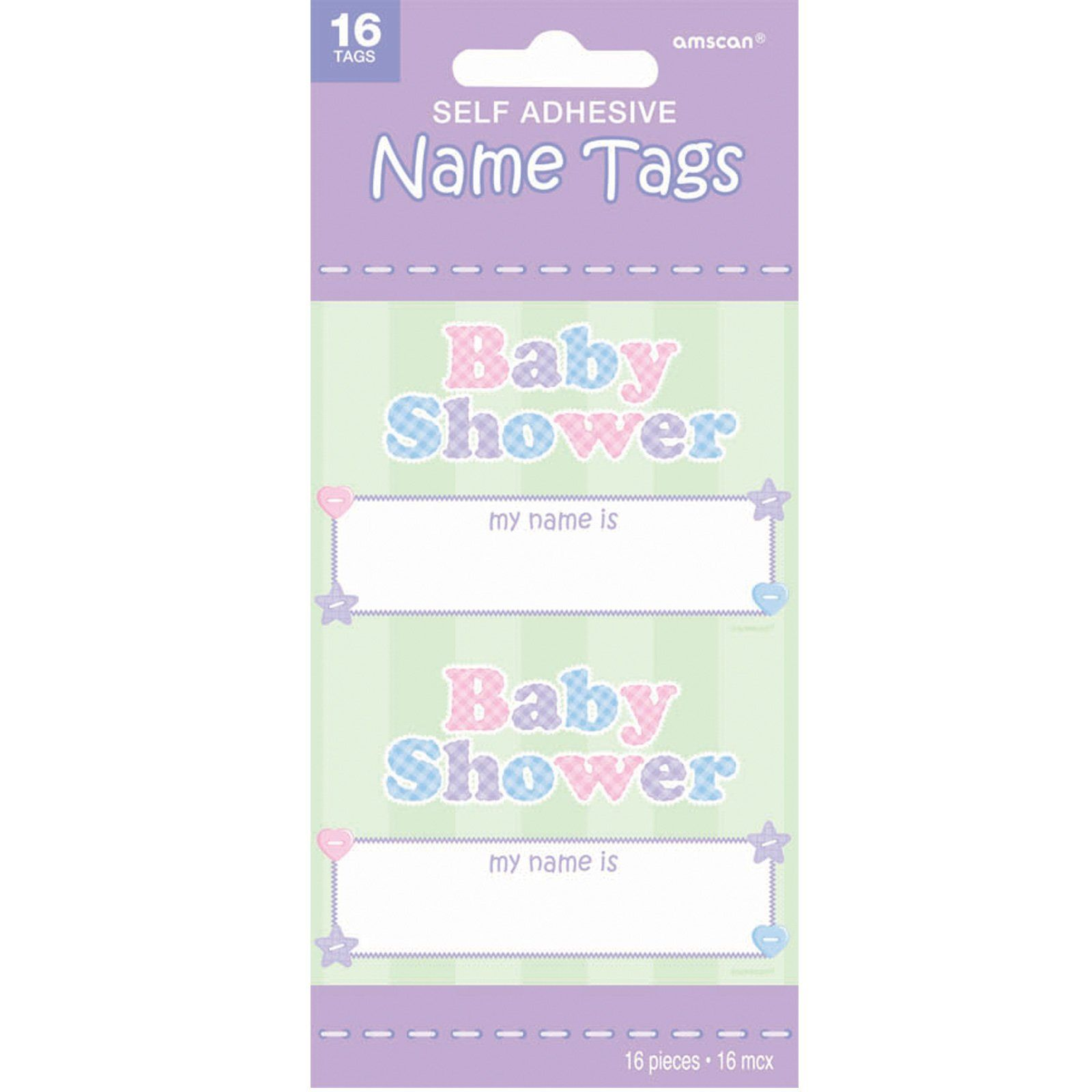 Baby Shower Name Tags The Moms Might Appreciate Name Tags