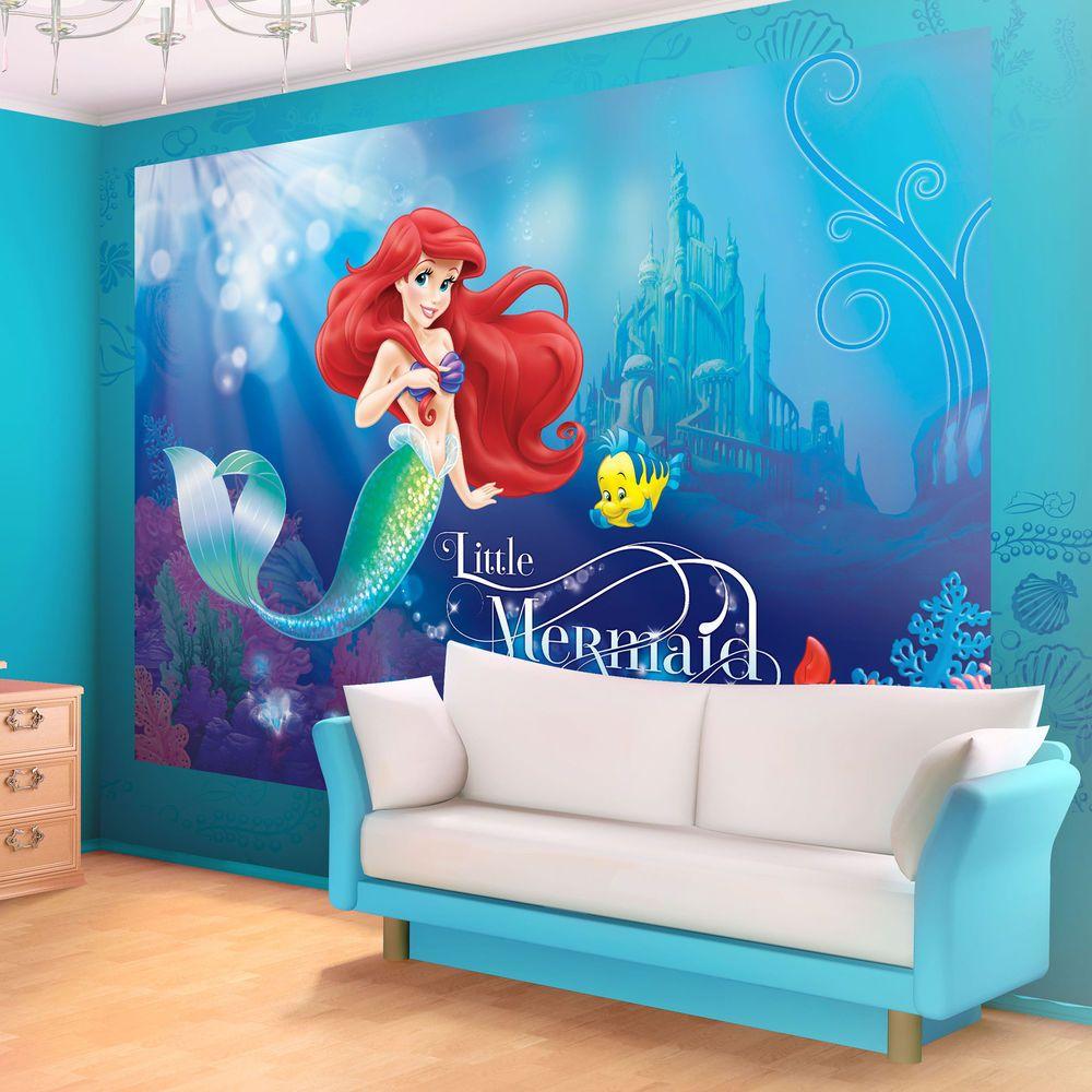 Disney Ariel the Little Mermaid PHOTO WALLPAPER WALL MURAL ...