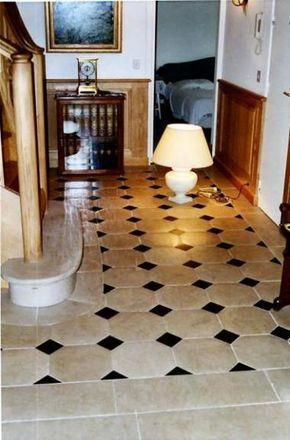 Dallage interieur à cabochons | Décoration intérieure, Dallage, Carrelage tomette