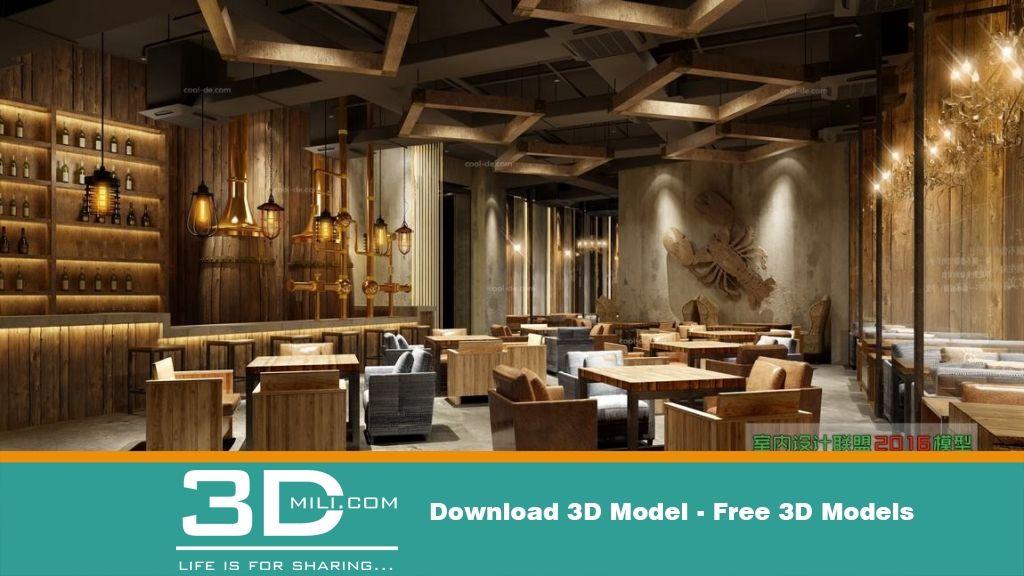 17 restaurant 3dsmax file free download resume builder