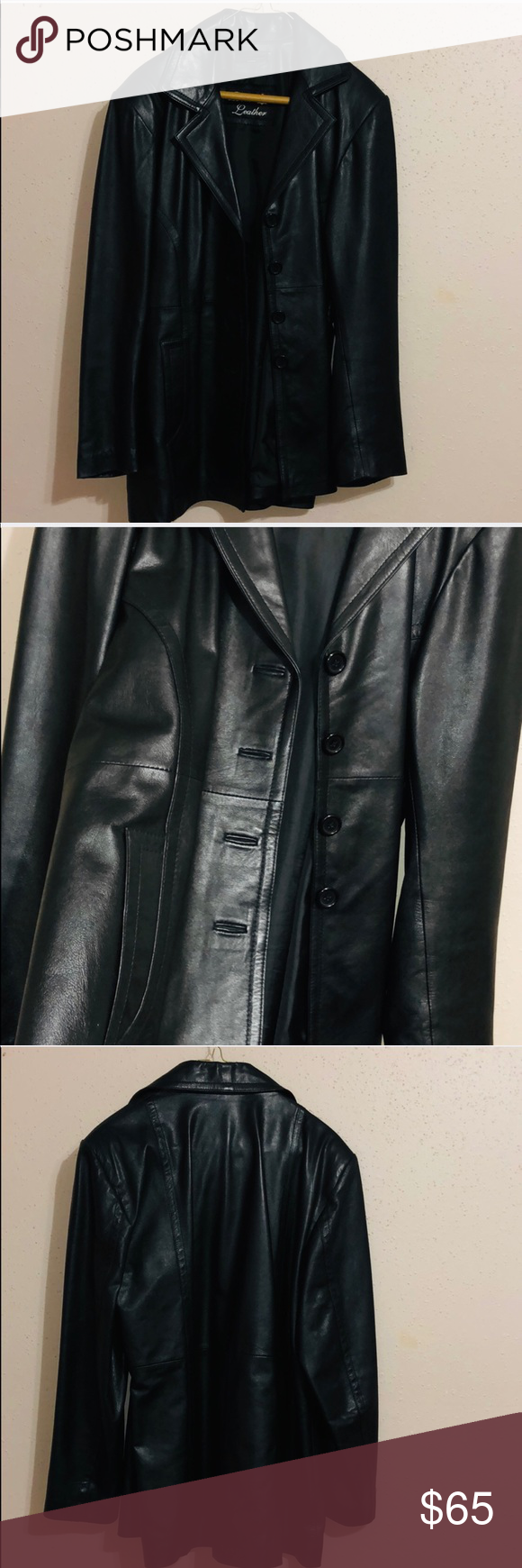 REAL LEATHER Women's Jacket Jackets, Leather women