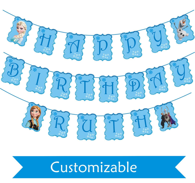 Contemporáneo Cumpleaños Imprimible Congelado Para Colorear ...