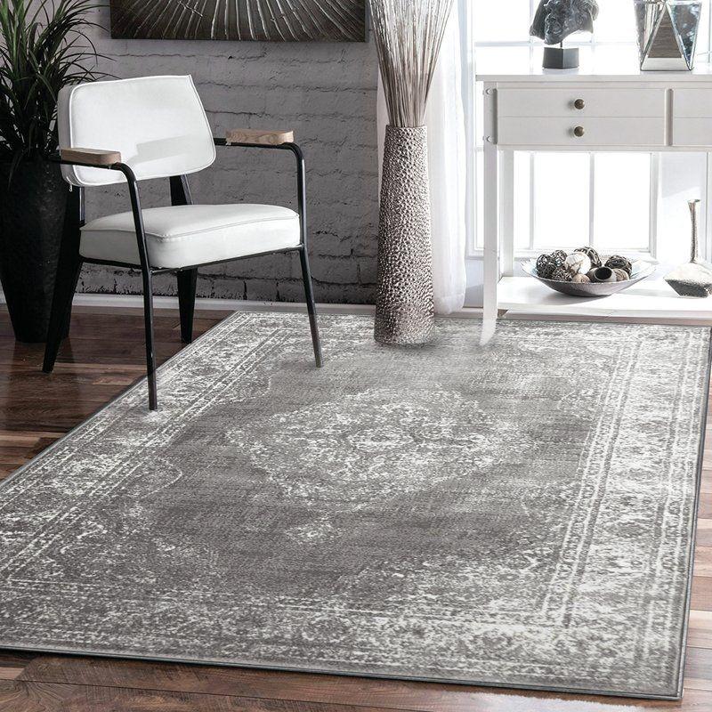 Teppich Alexia in Grau Wayfair Beste Auswahl Pinterest Grey - teppich wohnzimmer grau