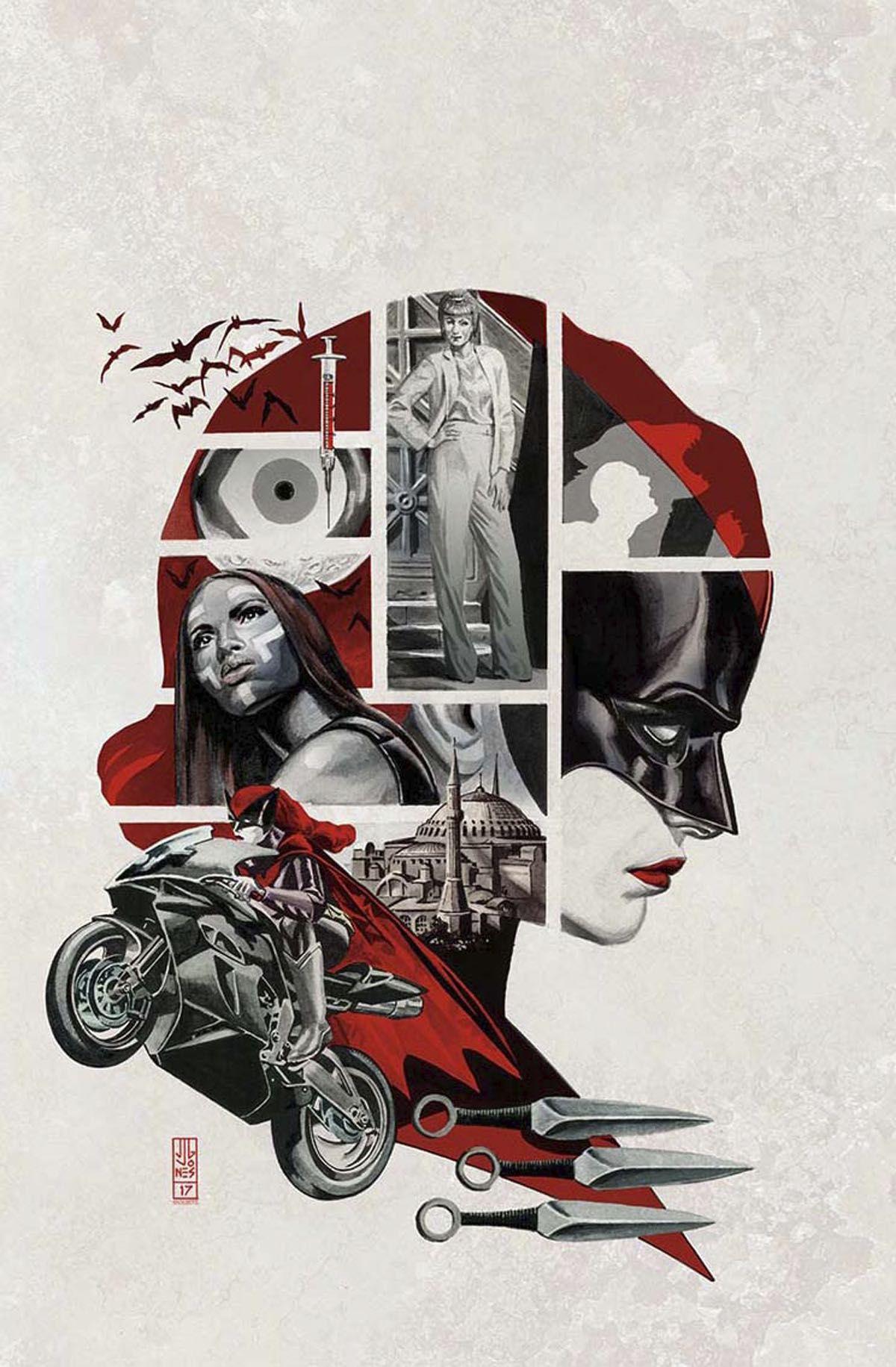Batwoman 1 (Cover B J. G. Jones) Dc comics artwork