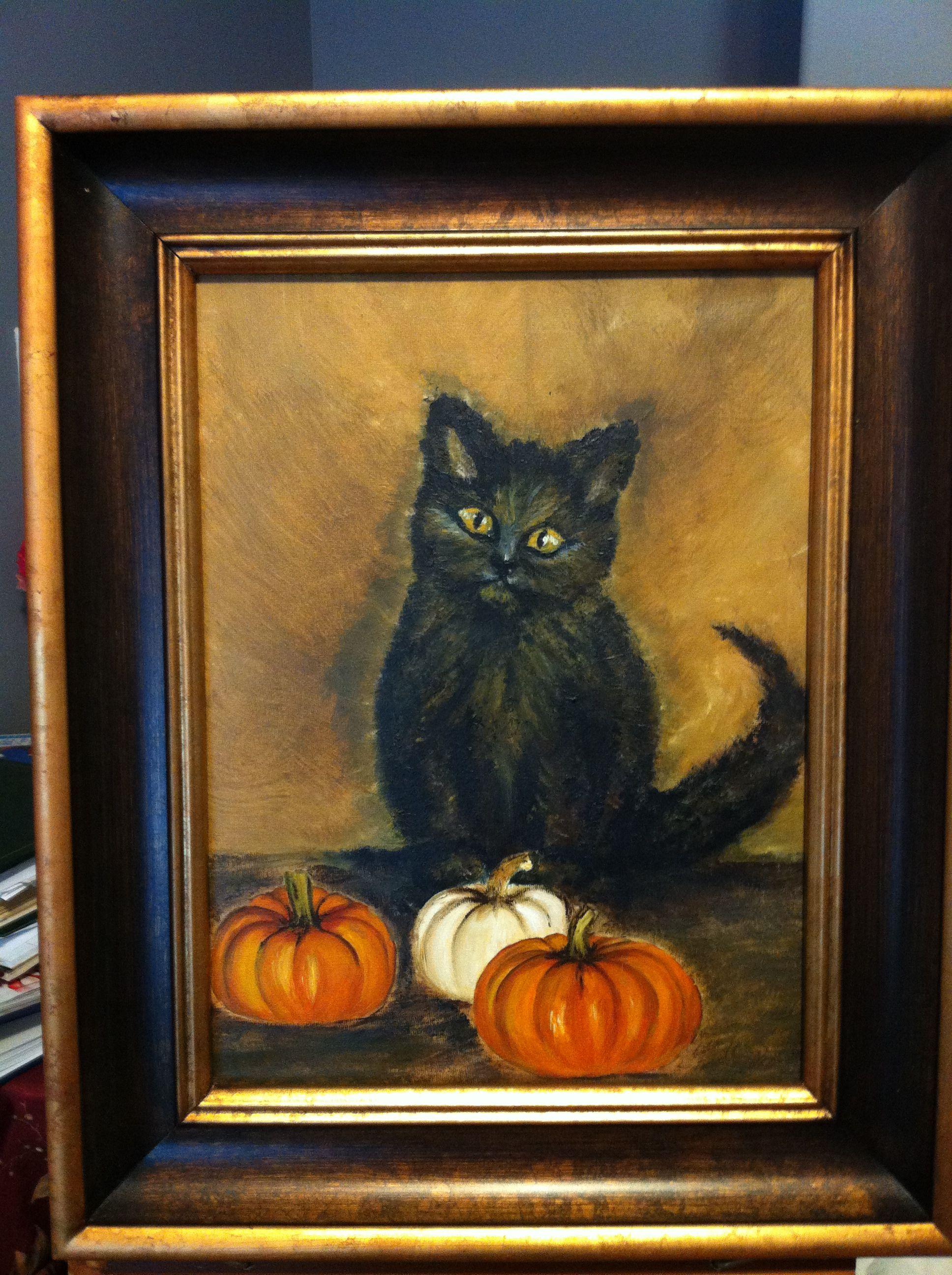 Five year old kitten.... Art, Painting, Kittens