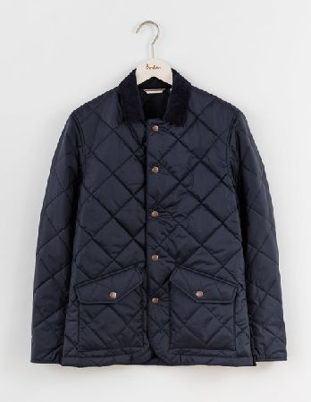Boden Quilted Jacket Navy Men Boden Navy 35978055 Whether Youre
